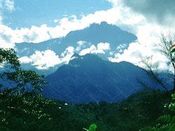 View of Mount Kinabalu, Sabah