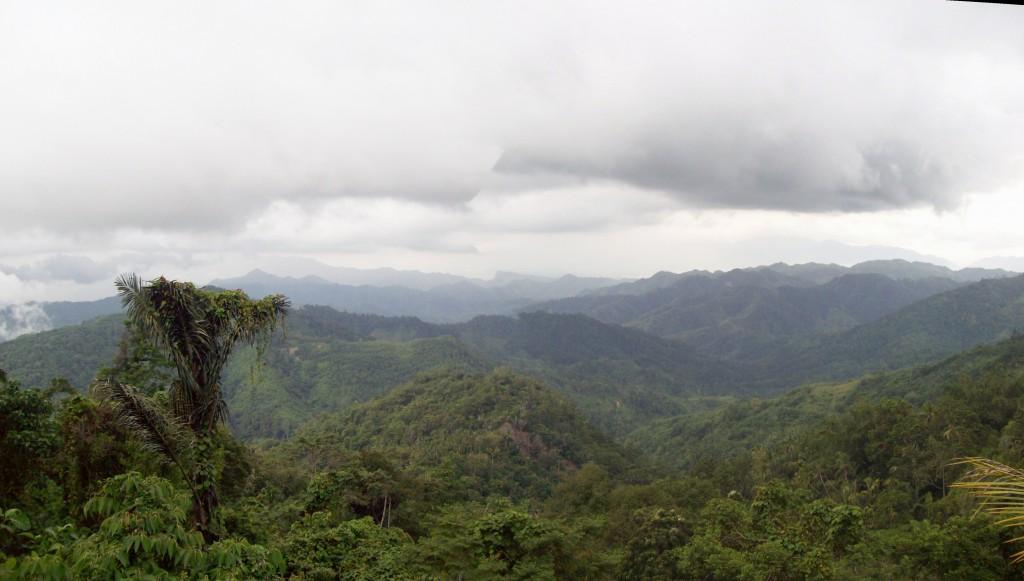 View to the Dulamayo Mountain